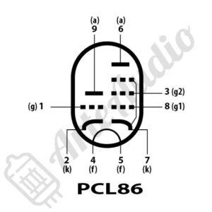 pines válvula pcl86