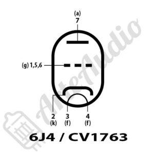 datasheet tube 6J4 CV1763