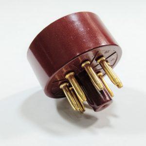 base de válvula octal