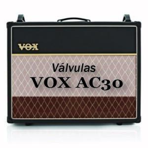 Selección de válvulas Vox AC30
