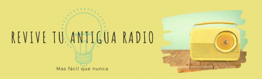 Válvulas para restauración de radios aniguas