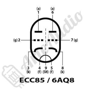 pines ECC85 6AQ8