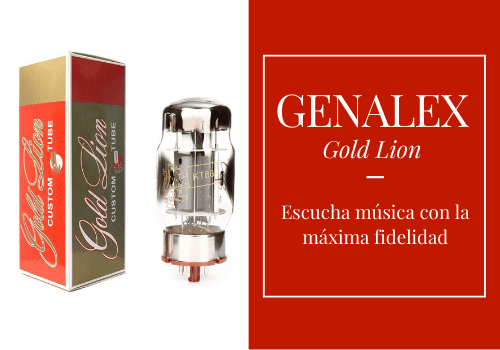 Válvulas Genalex Gold Lion alta fidelidad para amplificadores HiFi