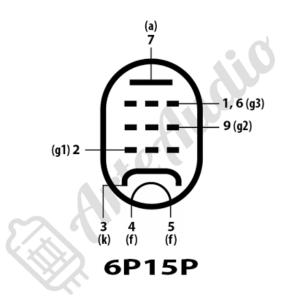 pinout datasheet 6P15P