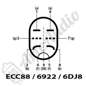 pines ECC88 6922 6DJ8 6N23P